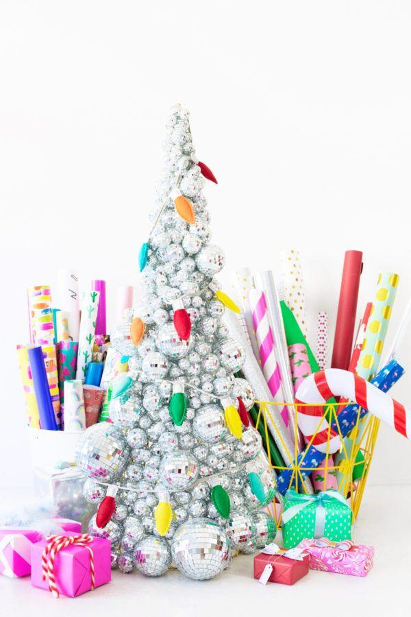 Handcrafted Christmas tree: 65 inspirations and ideas for your production 5