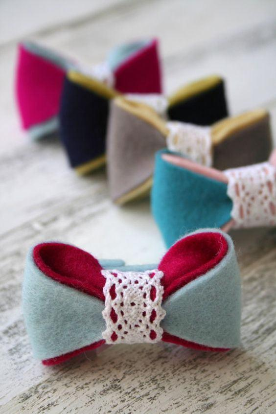 Felt Crafts: 115 Incredible Photos and Footsteps 84