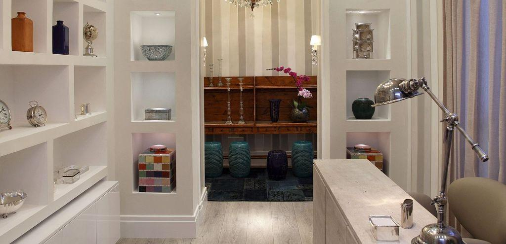 Plaster shelf: advantages and 60 projects to inspire 29