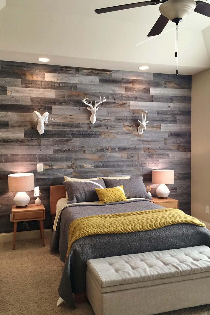 Pallet wall in harmony with the environment