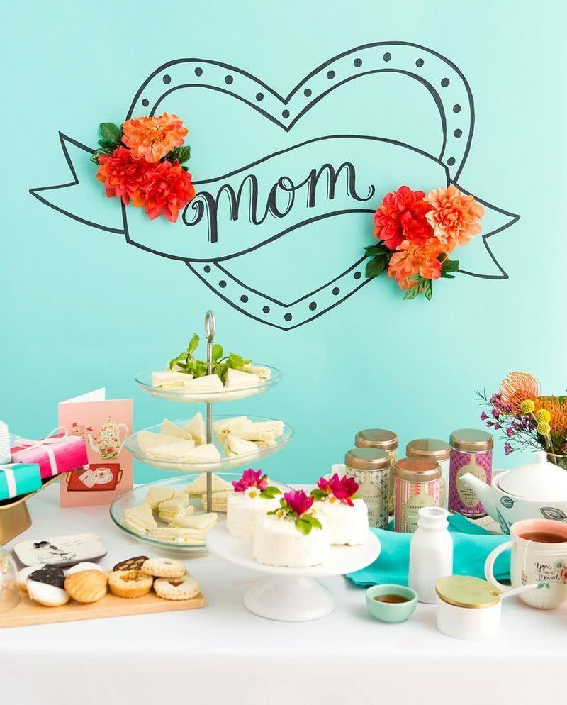 Mother's Day Decoration: 60 Ideas to Be Inspired 16