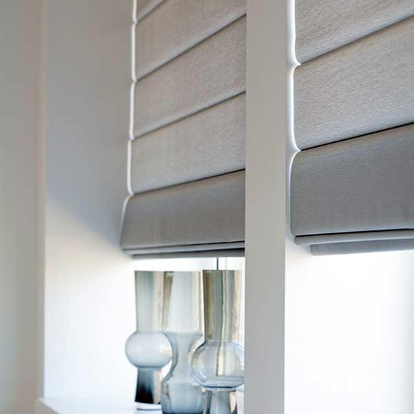 Enjoy the variety of colors that the Roman blind offers