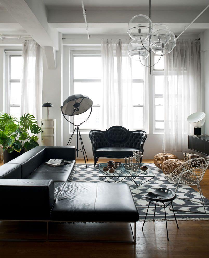 Leather sofa: 70 incredible models to decorate environments 35