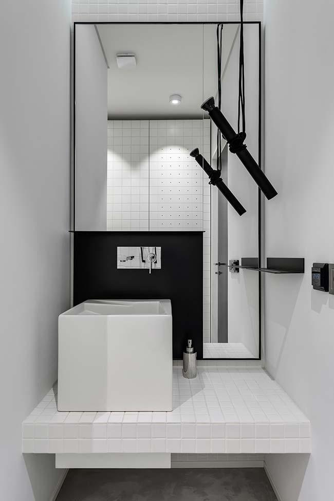 Black and white in modern decor