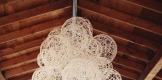 String lamp: 65 ideas and how to proceed step by step