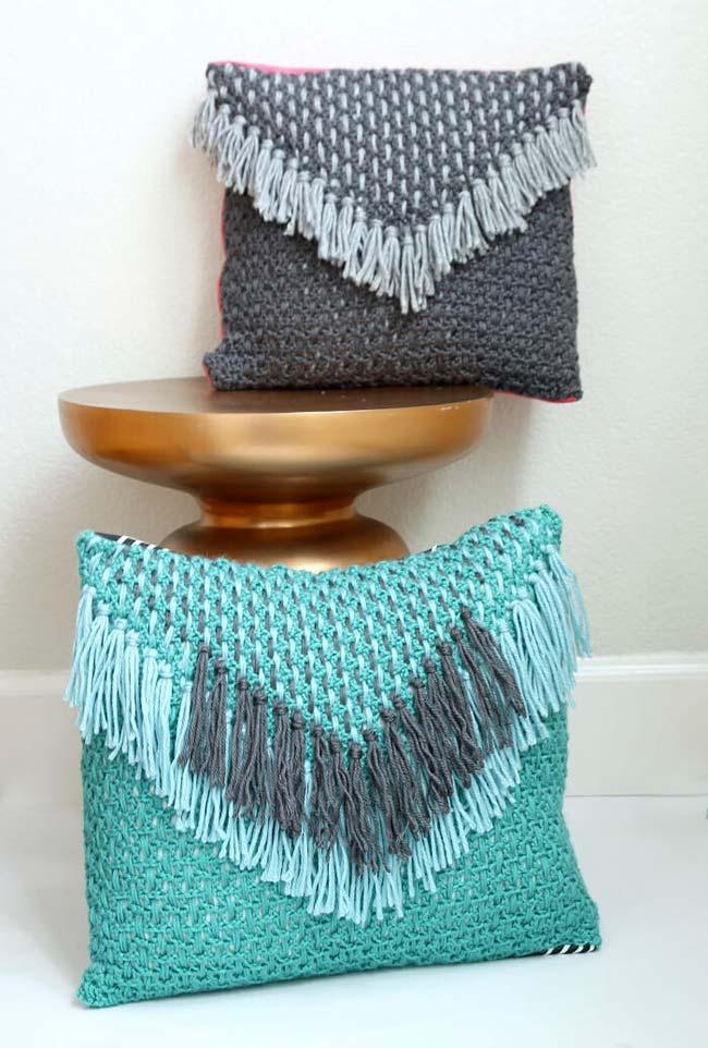 Envelope Crochet Cushion Cover