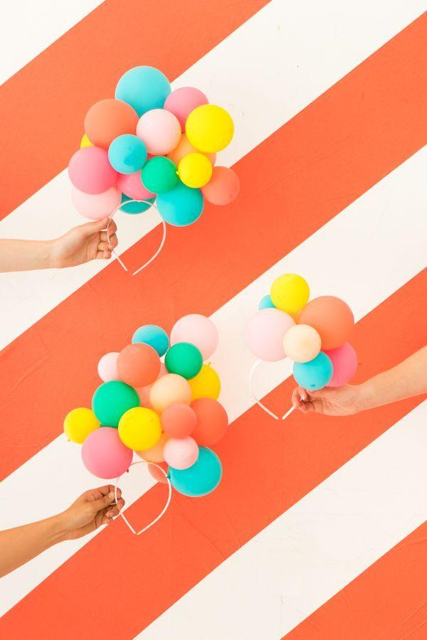 Decoration with balloons: 85 inspirations to decorate 32