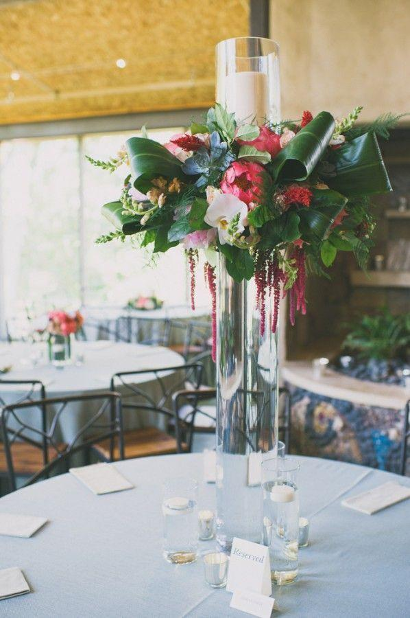 Wedding arrangements: 70 ideas for table, flowers and decoration 11