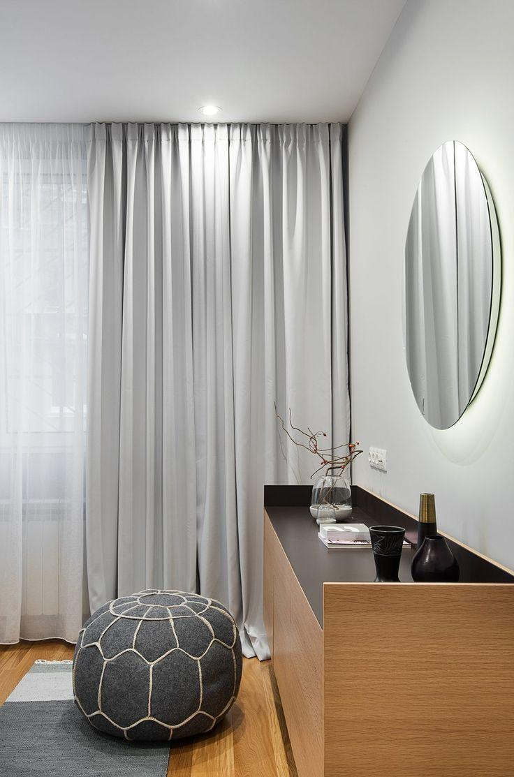 Curtain that prioritizes by delicacy in the environment