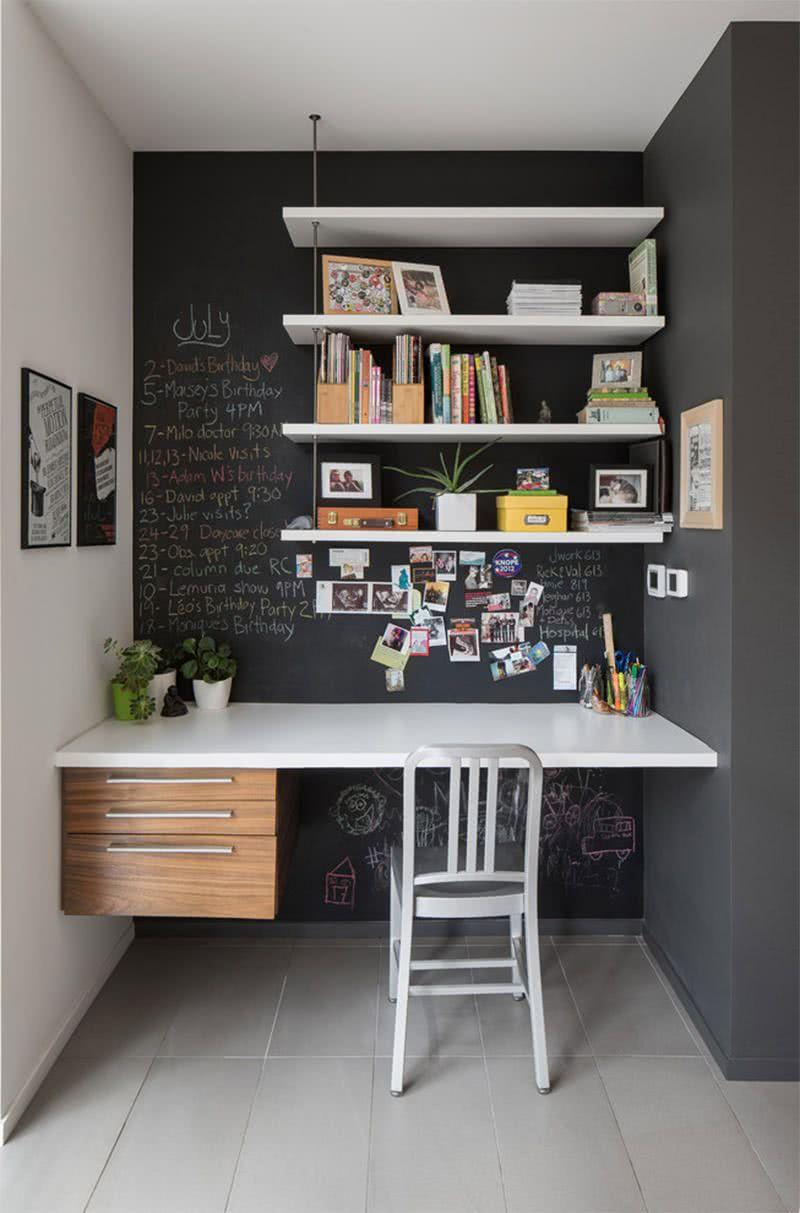 Black and white decoration: 60 ideas to inspire yourself 30