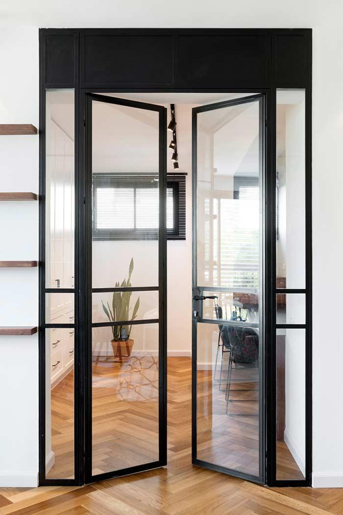 Glass door: 60 ideas and designs to inspire