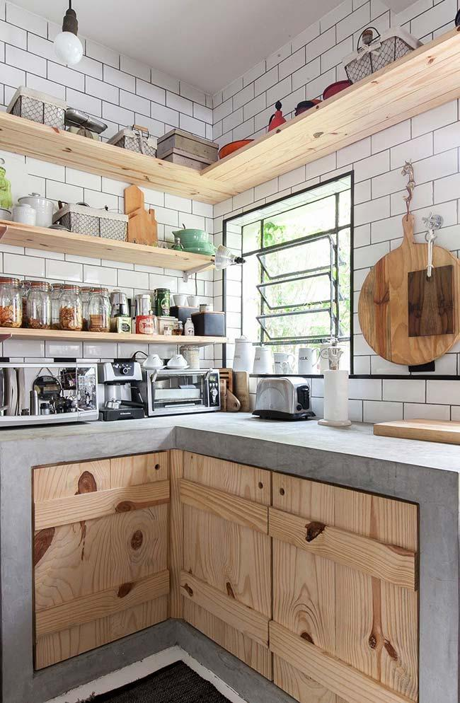 Kitchen cabinets and pallet racks