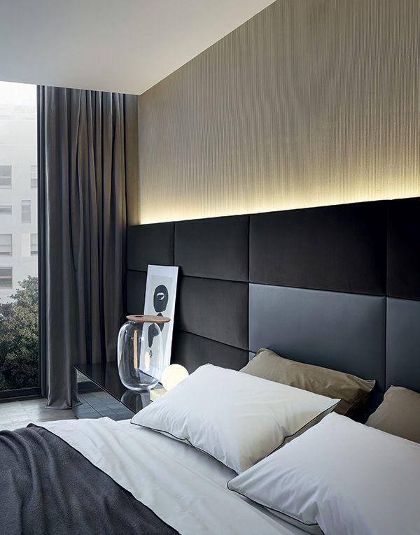 Upholstered headboard: 60 ideas and references to use in decoration 2