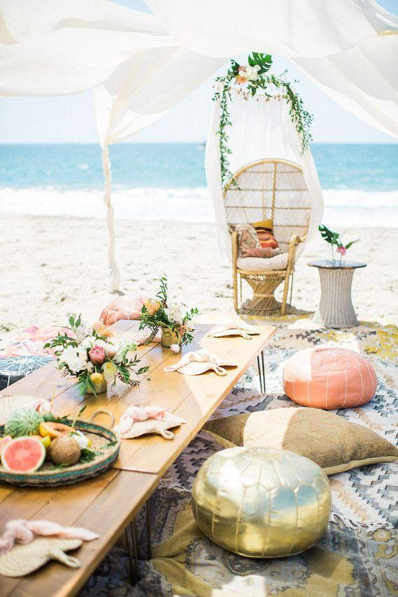 Beach Wedding Decoration: Inspiring Tips 18