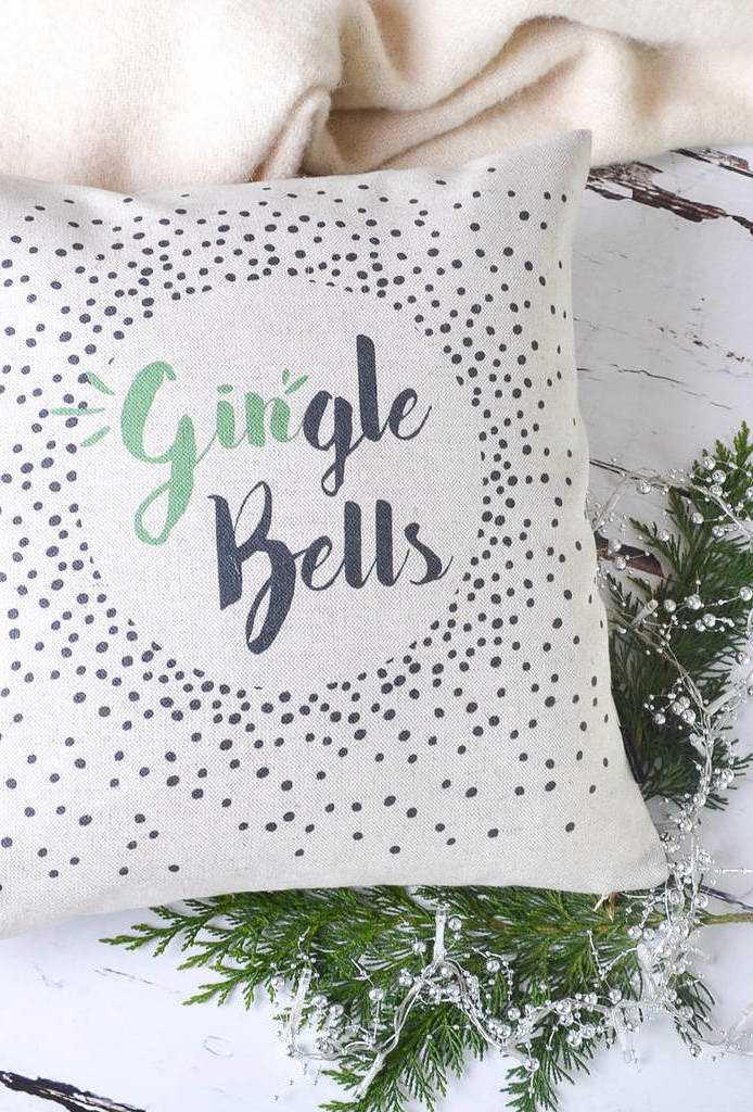 Christmas Cushions: 60 Decorating Ideas and How to Make 6