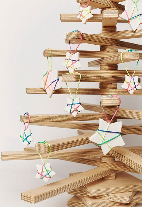 Handcrafted Christmas tree: 65 inspirations and ideas for your production 15