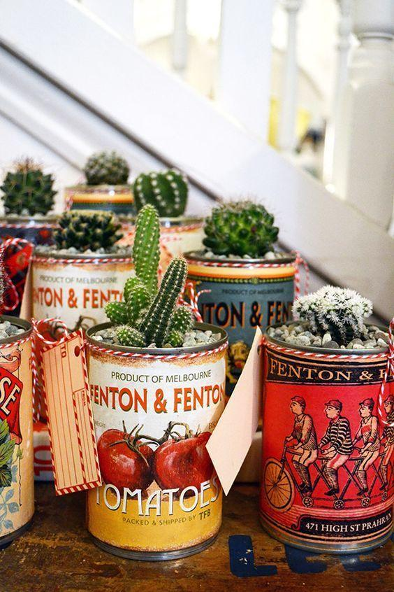 Decorated Cans: 70 Cool Ideas to Do at Home 52