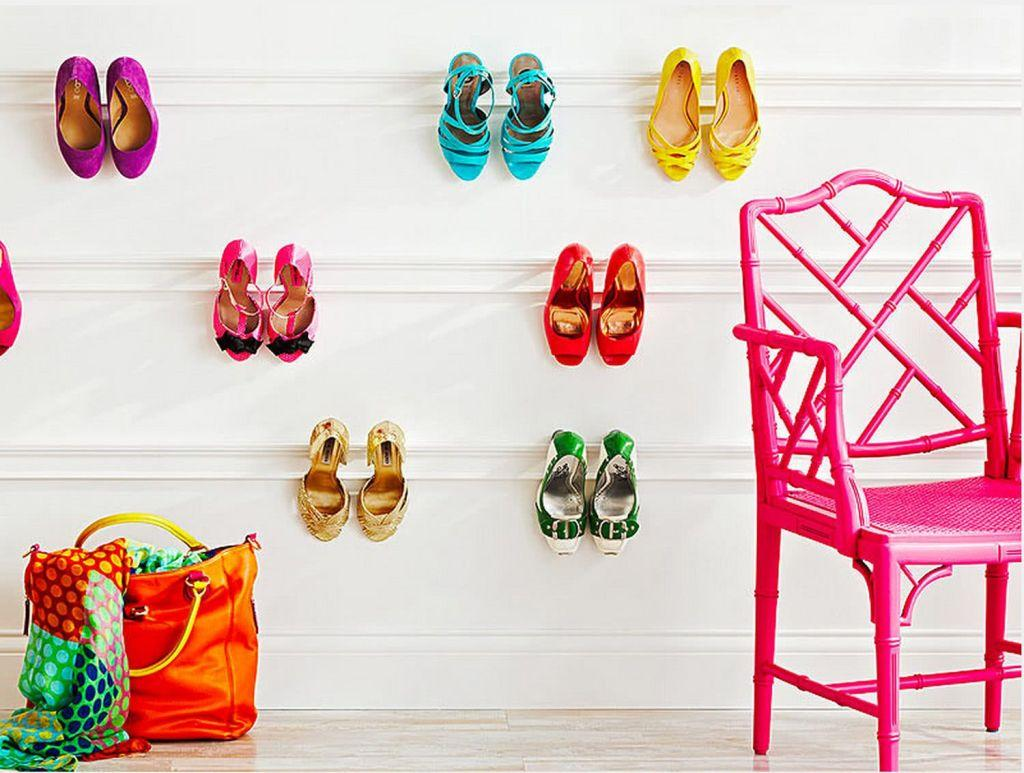 60 ideas and tips on how to organize shoes 42