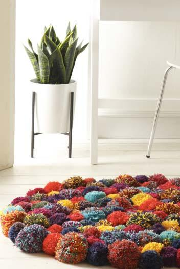 A charming rug for the living room