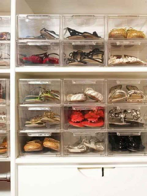 60 ideas and tips on how to organize shoes 45