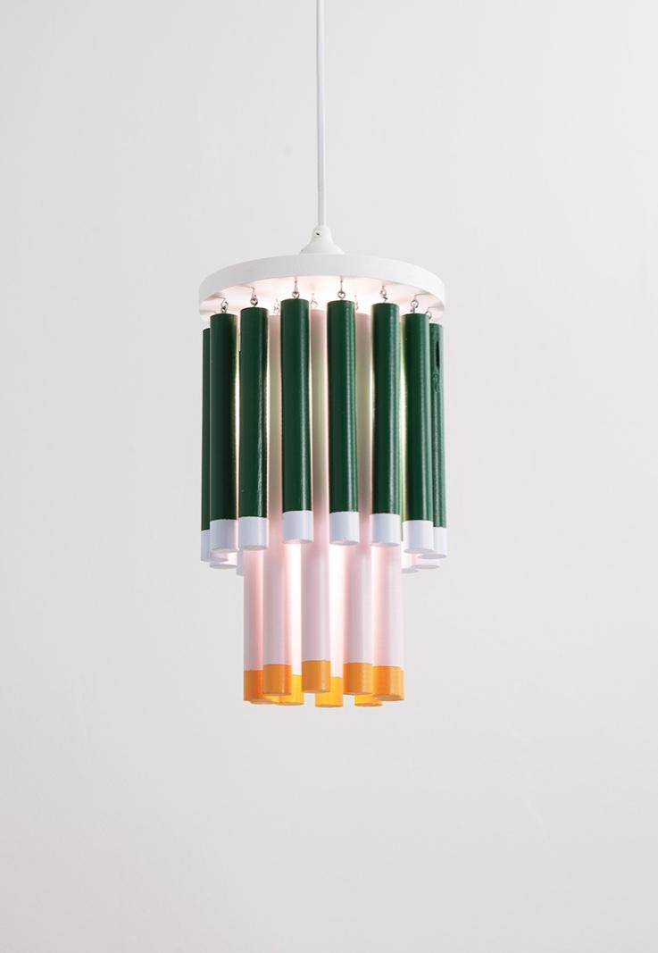 PVC chandelier perfectly possible