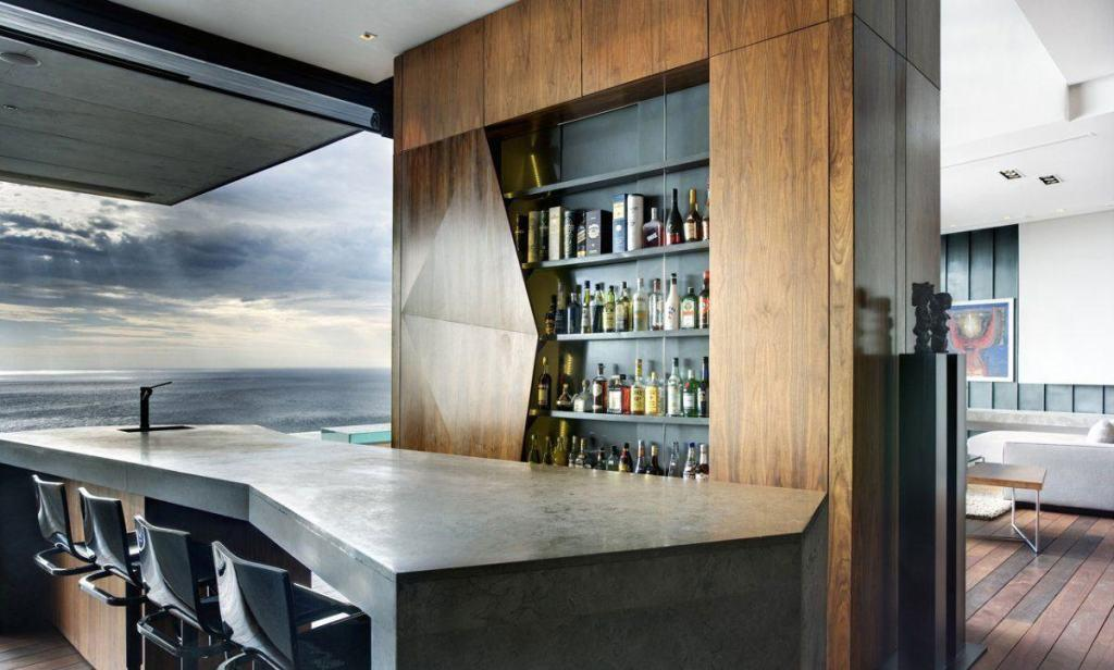 Wall bar: 60 amazing designs, designs and photos 60