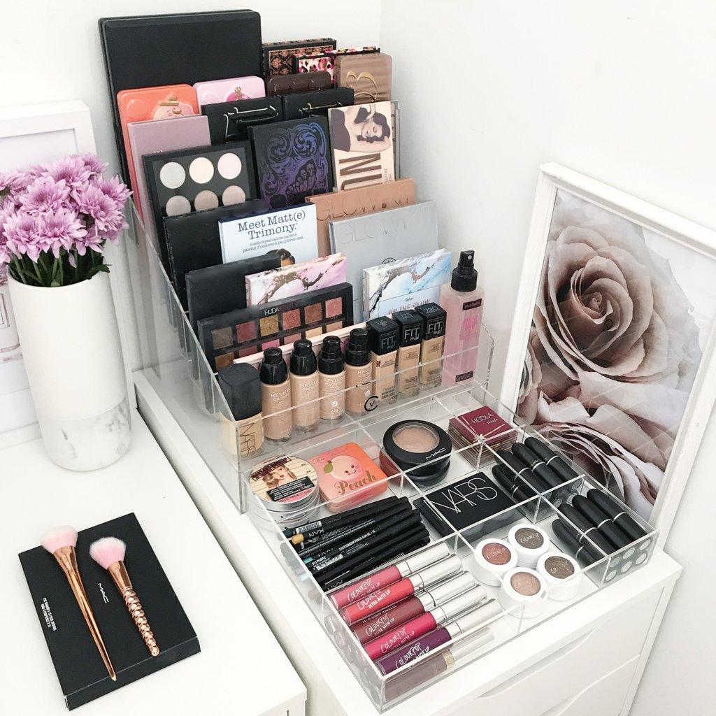 Makeup table: 60 ideas to decorate and organize 49