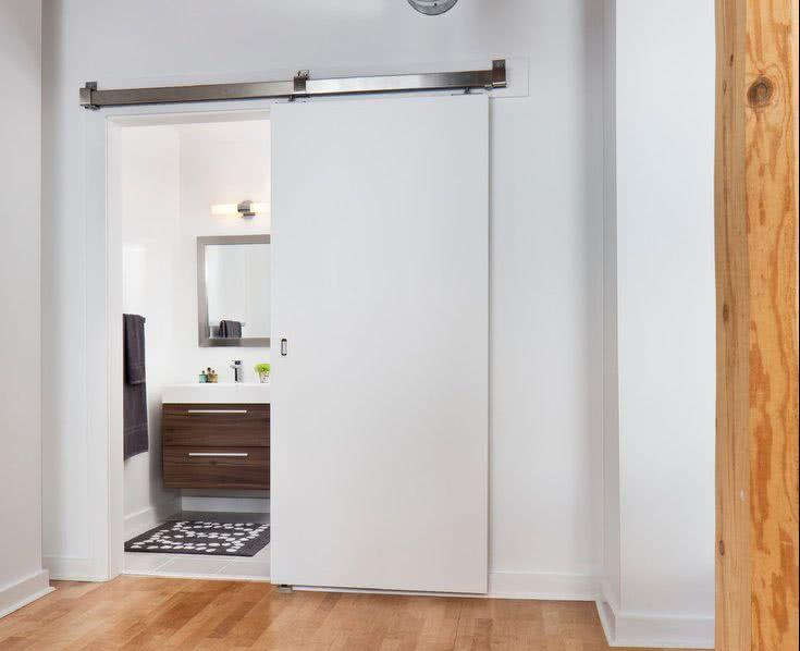 Sliding door: advantages of using and projects with photos 4