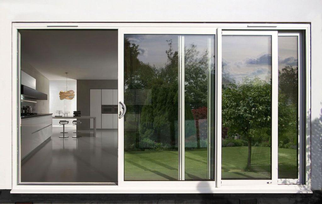 Sliding door: advantages of using and projects with photos 1