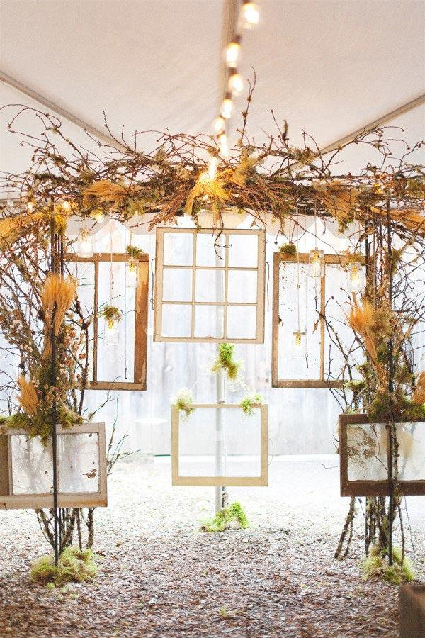 Rustic wedding: 80 decorating ideas, photos and DIY 19