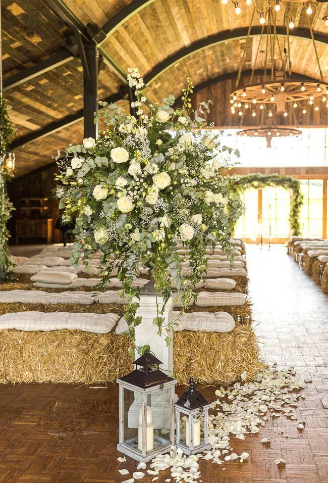 Country wedding: everything to decorate with this style of ceremony 19
