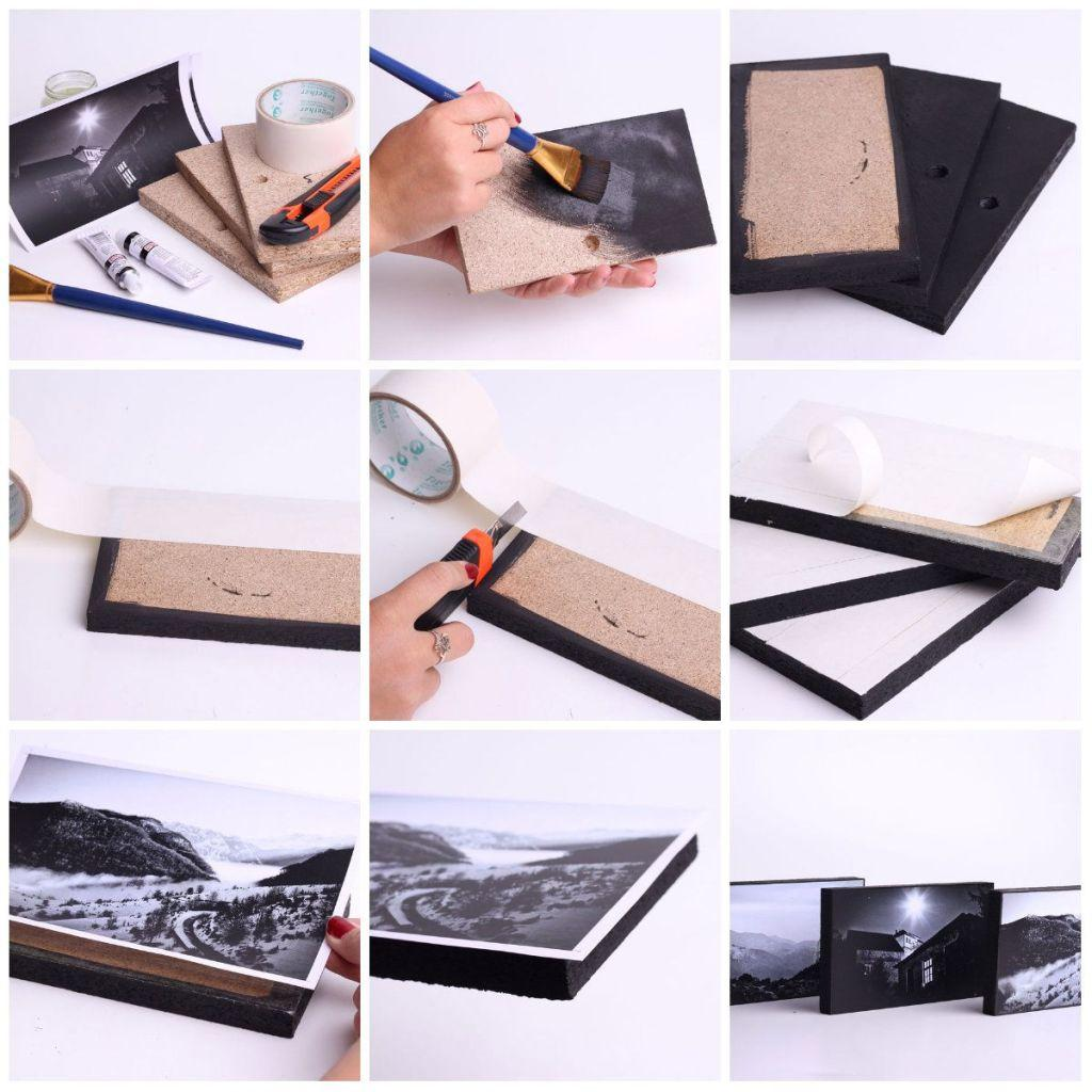 How to make handmade pictures: models, photos and step-by-step 61
