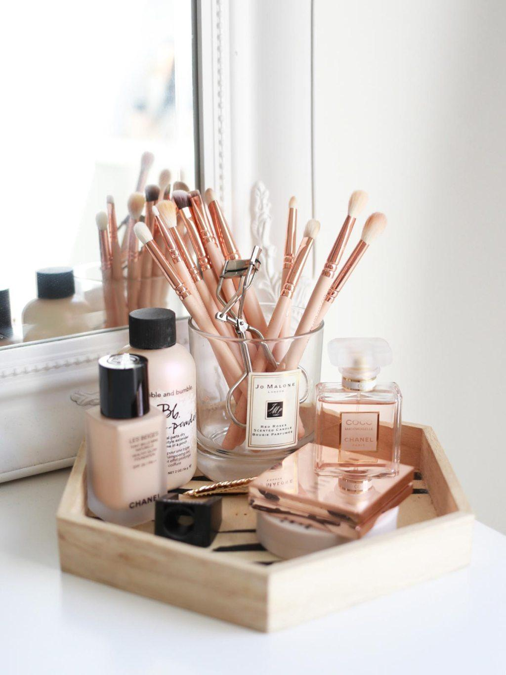 Makeup table: 60 ideas to decorate and organize 46