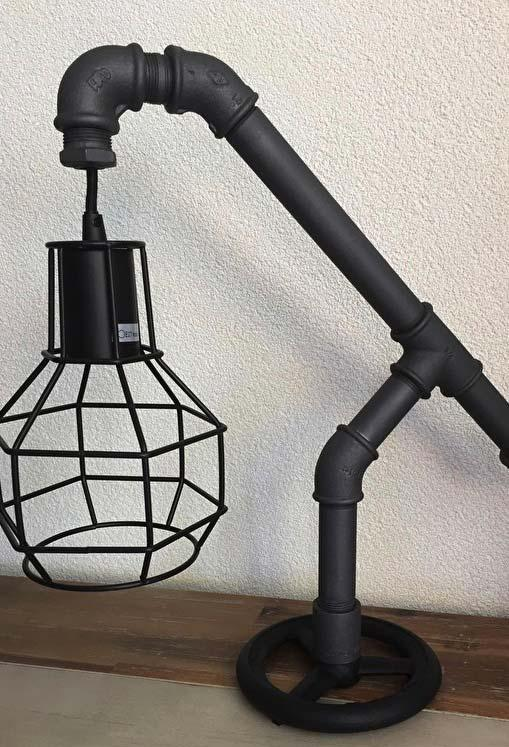 PVC table lamp