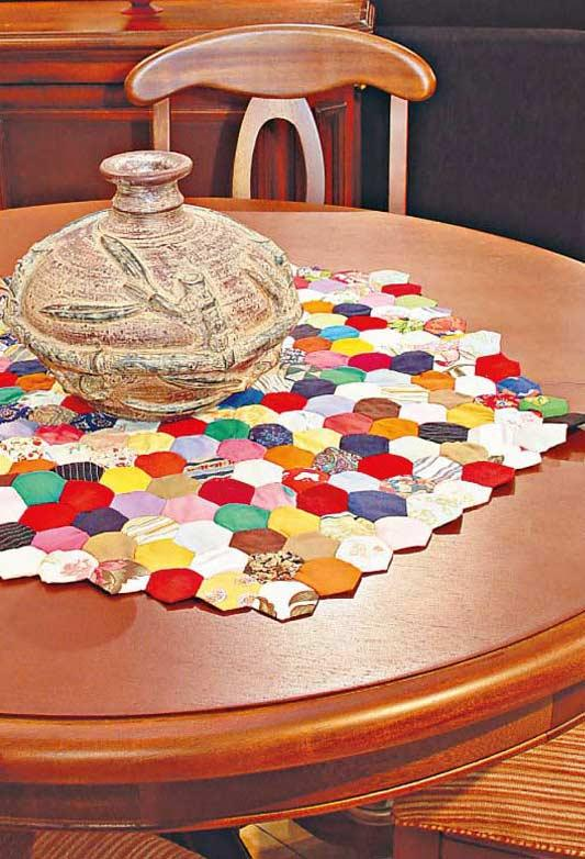How to Make Fuxico: Multicolor Centerpiece