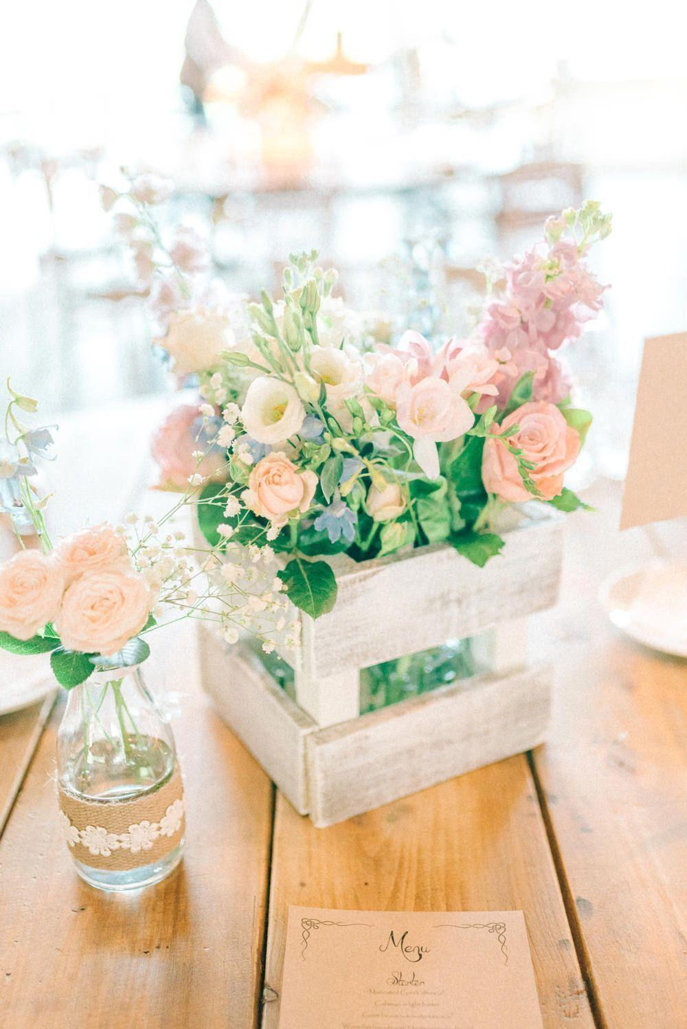 Wedding arrangements: 70 ideas for table, flowers and decoration 34