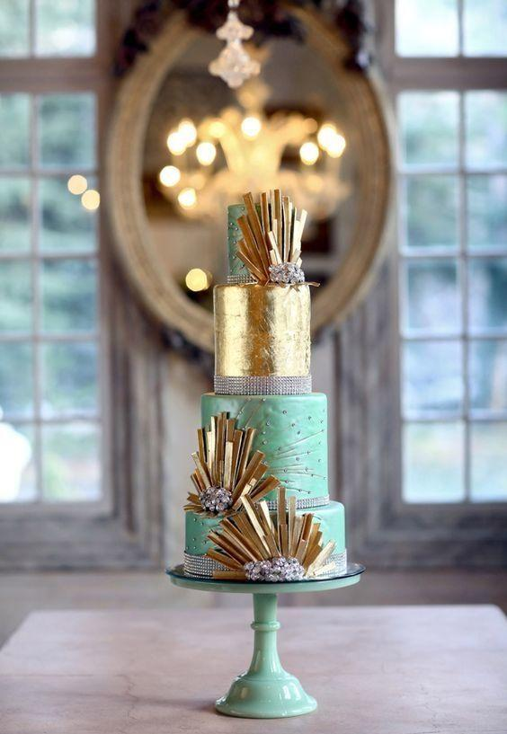 Contemporary elegance in cake decoration
