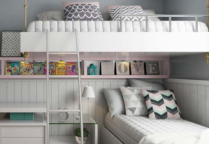 No neutral room: room with pastel tones