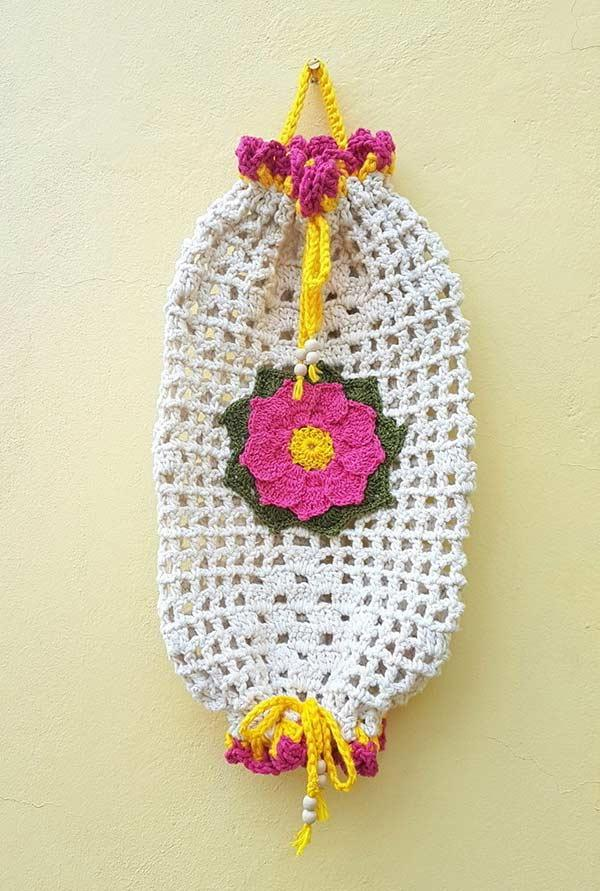 Pulling crochet bag: 60 models, ideas, and step by step 11
