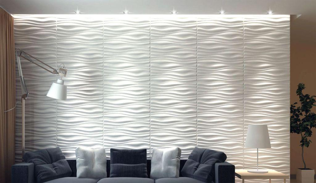 Wall of plaster: 50 ideas with pictures and how to make 46