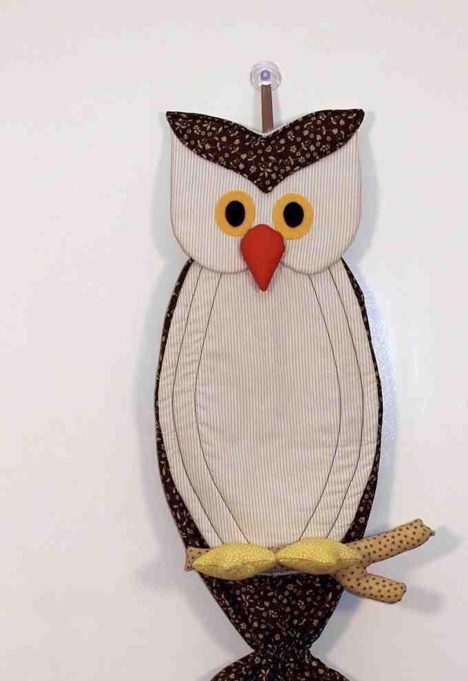 Owl bag pull: 60 ideas with photos and video step by step 22