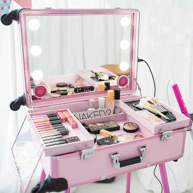 Makeup table: 60 ideas to decorate and organize 26
