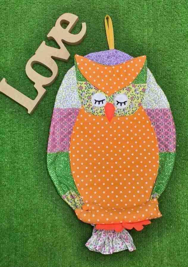 Owl bag pull: 60 ideas with photos and video step by step 7