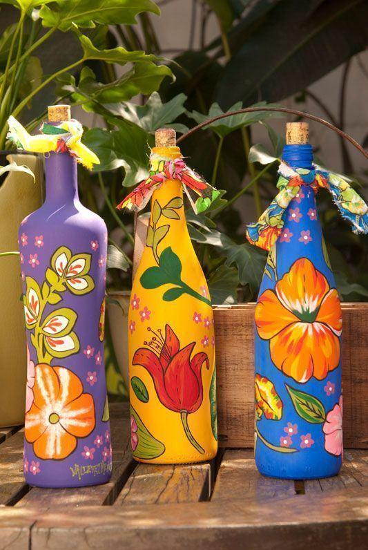Glass Bottle Craft: 80 Awesome Tips and Photos 73