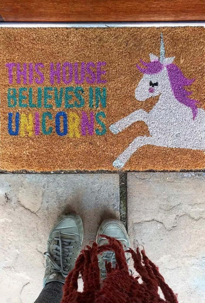 Funny doormats: welcome to brighten your home 22