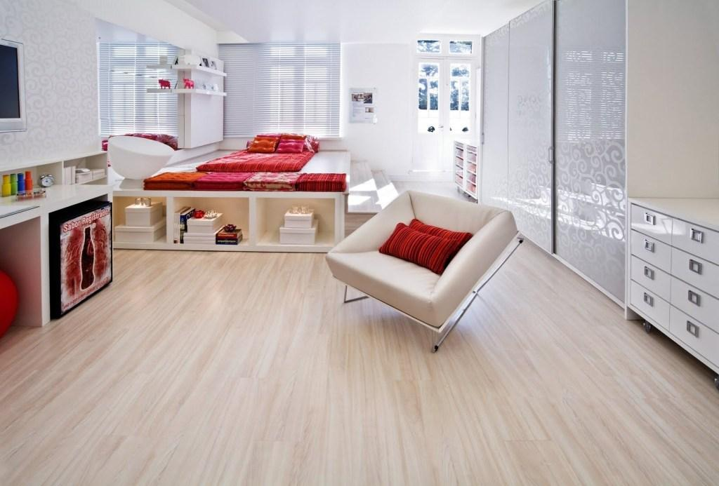 Wood carpet: advantages, prices and 50 project photos 48
