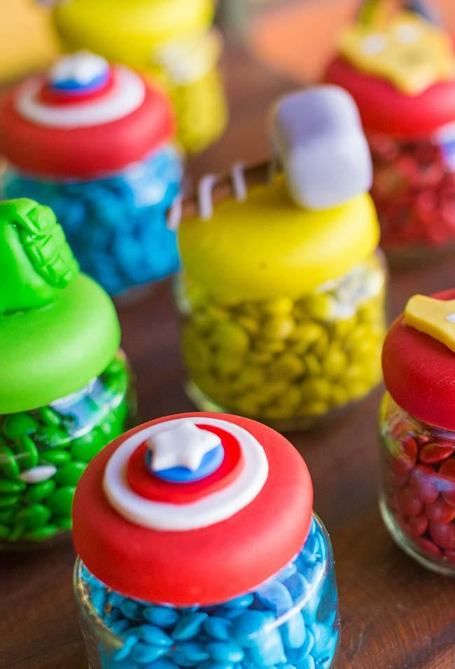 Colorful Avengers Petite Pot