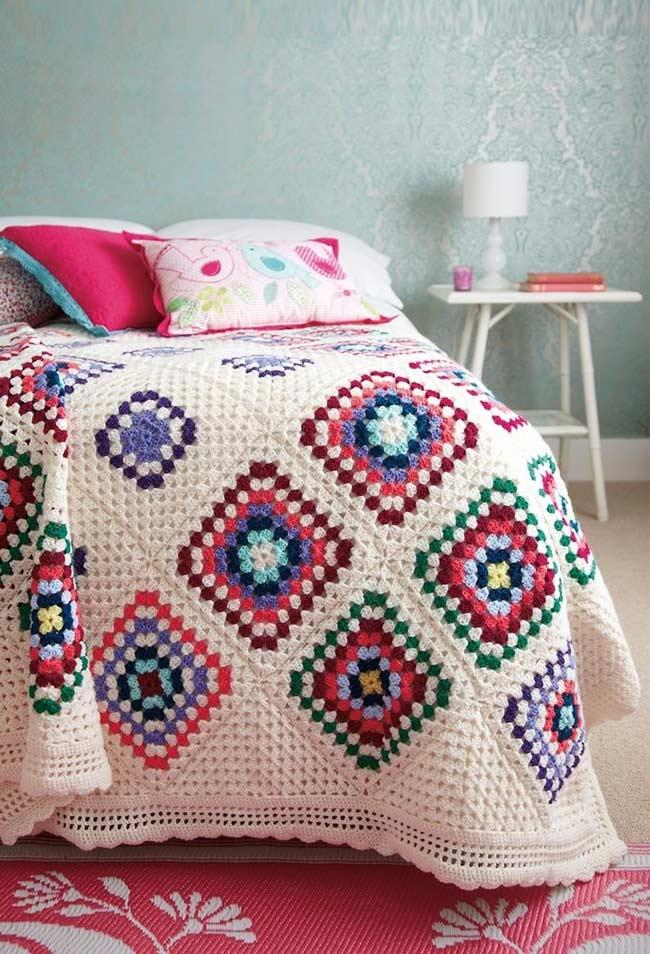 Colorful bedspreads for a more romantic mood