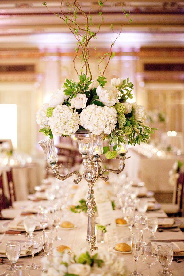 Wedding arrangements: 70 ideas for table, flowers and decoration 47