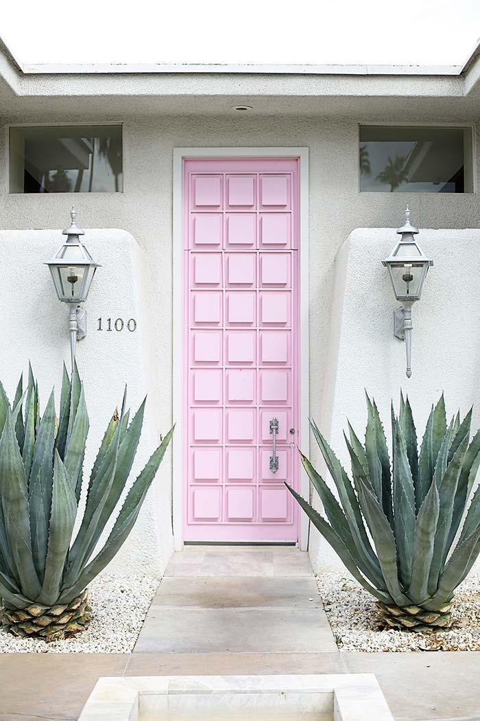 Colorful stylish super door